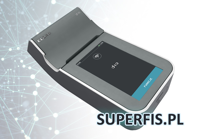 Mała drukarka fiskalna - Elzab D10